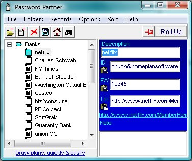 Password Partner screenshot